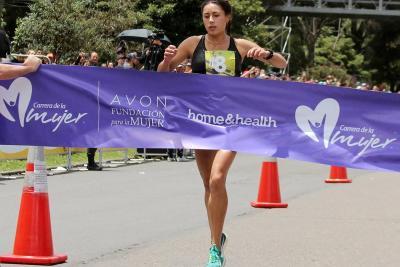 Leidy Romero, campeona de la Carrera de la Mujer