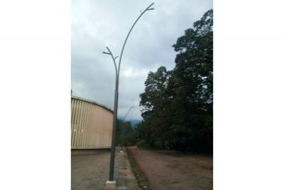 González Chaparro solicita la  instalación de alumbrado público