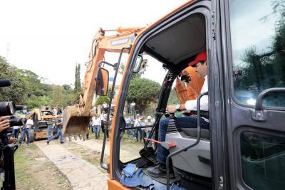Se empezaron a ejecutar obras en Güepsa