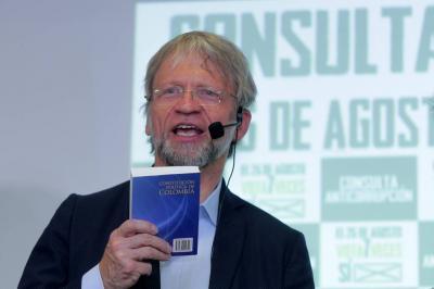 Consejo de Estado admitió demanda contra elección de Antanas Mockus