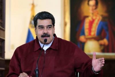 """Maduro rechazó sanción de EEUU contra su esposa y pidió que le """"ataquen"""" a él"""