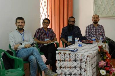 Escritores internacionales visitaron colegio de El Palmar