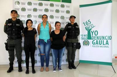 Así operaba la banda de extorsión 'Las Princesas' en Santander