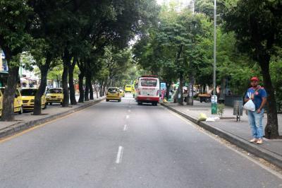 Comerciantes de la carrera 33 de Bucaramanga reúnen firmas para evitar que restricción sea permanente