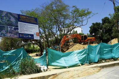 En un 30% avanzan obras del sendero y CAT en Cañaveral