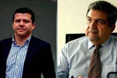 Muerte política de los exsenadores Plinio Olano y Bernardo Elías
