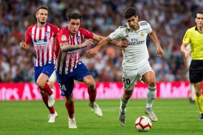 El Real Madrid igualó con el Atlético en el Bernabéu