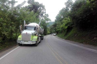Motociclista murió en un accidente registrado en la vía entre Bucaramanga y San Alberto