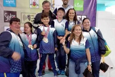 Nadadores santandereanos lograron seis medallas de oro en Copa Internacional