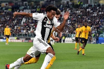 Con Cuadrado de titular la Juventus venció 3-0 al Young Boys