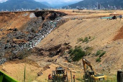 El Carrasco colapsa y tiene a Bucaramanga y el área en emergencia