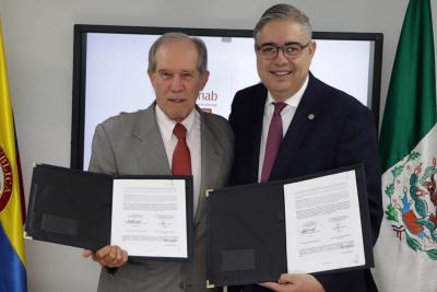 UNAB y TEC de Monterrey sellan alianza para ofrecer educación continua en Bogotá
