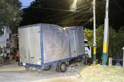 Joven atropellada por un furgón en Bucaramanga perdió a su bebé en gestación