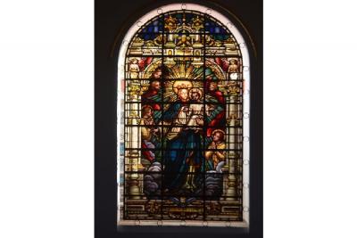 Banquete de la solidaridad por la restauración de vitrales de la catedral de Bucaramanga