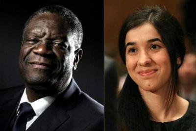 Nobel de paz por combatir la violencia sexual en guerra
