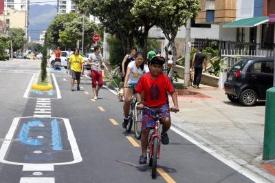 Estos son los 12 corredores que tendrían ciclorruta para 2019 en Bucaramanga