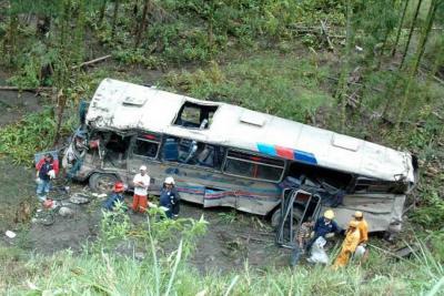 Accidente de autobús deja 20 personas heridas en Cuba