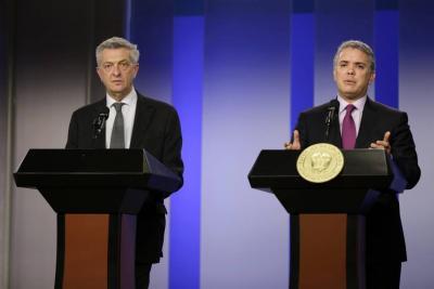 Acnur resaltó esfuerzos de Colombia en crisis migratoria