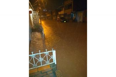Fuertes lluvias vienen generando estragos en barrios de Piedecuesta