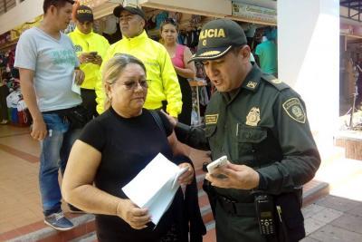 Varios celulares que habían sido reportados por hurto en Barrancabermeja fueron devueltos a sus dueños.