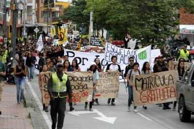 A huelga de hambre profesores por crisis de la educación pública