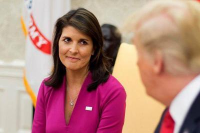 Embajadora de EE.UU. ante la ONU renunció