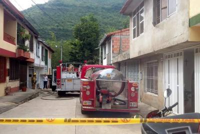 Bomberos voluntarios es el único idóneo en San Gil para emergencias con fuego