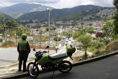 En este lugar del barrio Nueva Colombia, en el norte de Bucaramanga, se registró el atraco que cobró la vida de Brayan Parada Sarabia.