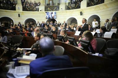 Aplazada en el Senado votación de la reforma a la justicia