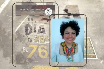 'Un día en el 76', el thriller de una santandereana por adopción que cautivó España