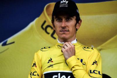 Roban trofeo del ganador del Tour de Francia, Geraint Thomas