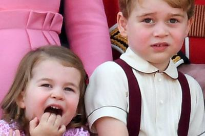 Los hijos de los duques de  Cambridge, serán pajecitos