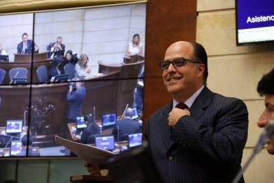 Colombia reconoció condición de refugiado al diputado Julio Borges