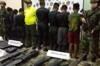 Ejército recuperó ocho menores de edad en poder del Eln