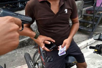 Hombre fue citado a comprar una motocicleta y terminó siendo atracado