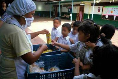 De los 180 días calendario, los más de 135.000 estudiantes de los 82 municipios no certificados de Santander solo recibieron alimentación 59 días.