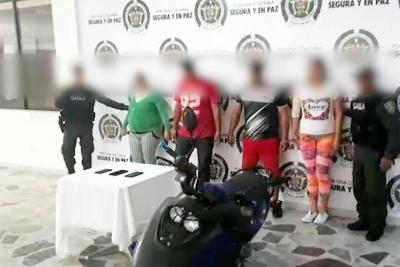 Capturan en Ibagué banda vinculada a 26 casos de extorsión en Santander