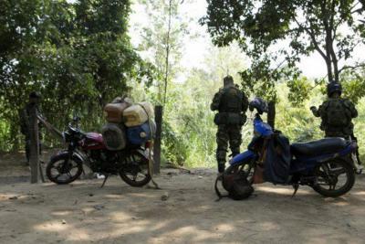 Se registra desplazamiento de campesinos por conflicto en Norte de Santander