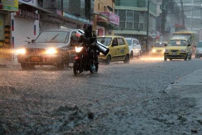 Atento: octubre podría finalizar como el mes más lluvioso en Santander