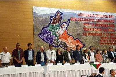 Los partidos de oposición realizan audiencias temáticas