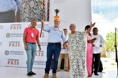 El plan de Duque para que toda La Guajira tenga agua en 2024