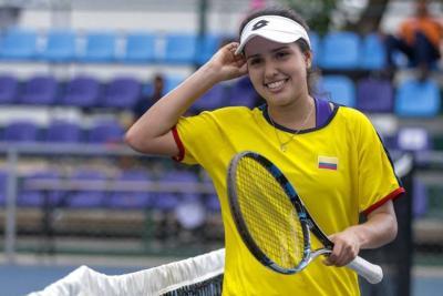 Cucuteña María Camila Osorio ganó bronce en tenis de los Juegos de la Juventud