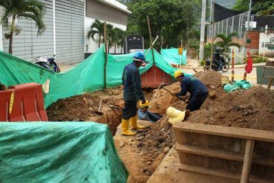 Nuevo alcantarillado para tres barrios al oriente del municipio