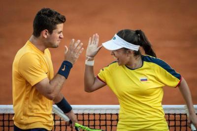Colombia logró la plata en tenis mixto en los Juegos de la Juventud