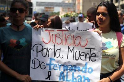 La oposición venezolana asegura que hay muchas inconsistencias en la muerte del concejal Albán.