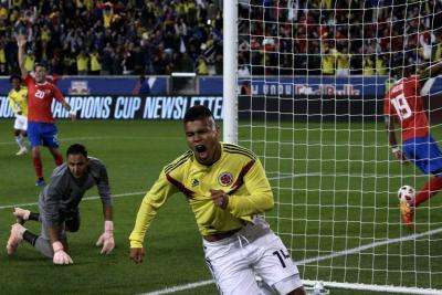 El 'Cucho' le entregó un merecido  triunfo a Colombia ante Costa Rica