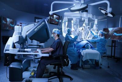 Sistema  da Vinci® Xi™  para cirugías de alta precisión
