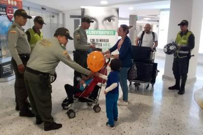 Vigilancia en el Aeropuerto Internacional Palonegro
