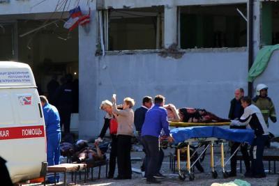 Van 18 muertos tras atentado en Crimea