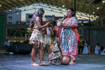 Los gironeses aprendieron sobre las diferentes comunidades indígenas